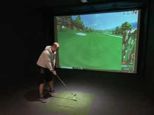indoor golf devon