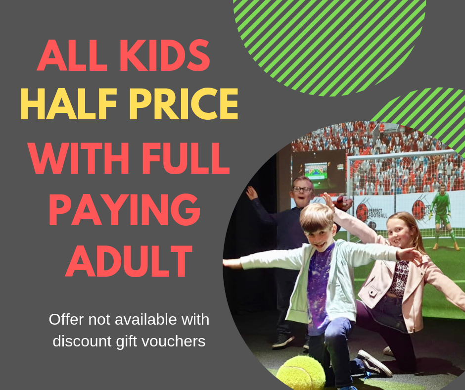 Kids play for HALF PRICE